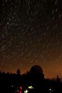 Le mouvement des étoiles dans le ciel
