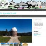 Page web du système de réservation